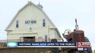 Historic Barn Open to the Public