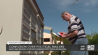 Confusion over political mailers