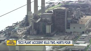 Industrial accident inside TECO's Big Bend Power Plant kills 2 workers, critically injures 4 others - Video