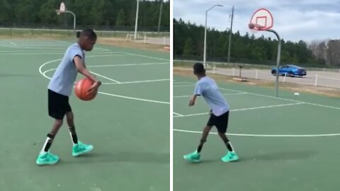 Arthrogryposis won't stop this man from following his basketball dream