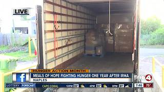 Meals of Hope fighting for hunger one year after Hurricane Irma - Video