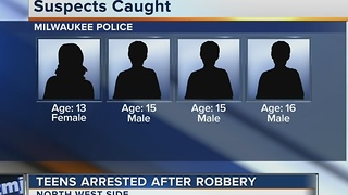 4 Milwaukee teens arrested for carjacking