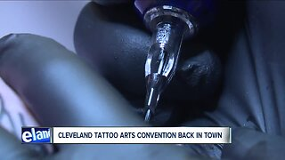 Cleveland Tattoo Arts Convention returns for fifth consecutive year