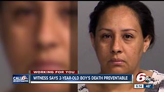 Witness says 2-year-old's death was preventable - Video
