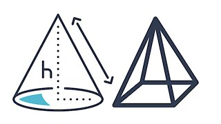 Surface Area and Volume - Pyramid and Cone - IntoMath