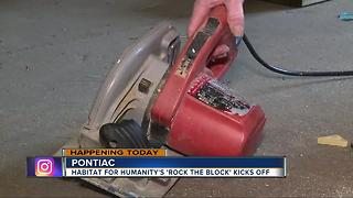 Rock the Block kicks off in Pontiac - Video