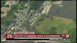 2 dead in shooting at San Bernardino elementary school, police say - Video