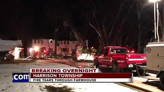 Harrison Twp Fire - Video