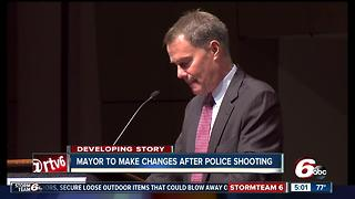 Changes coming to IMPD after officer-involved shooting - Video