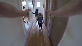 Best GoPro Camera Chase (Tickle Monster - It's tickle time)  - Video