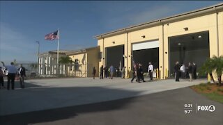 Naples Airport opens new fire station