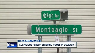 Home invader causing concern in Niagara Falls
