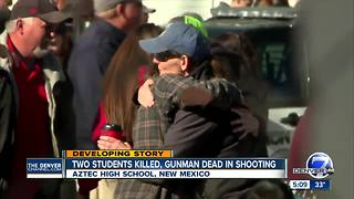 Students hid in classrooms during N.M. shooting that left 3 dead