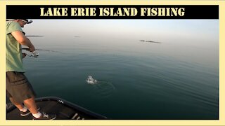 Lake Erie Island Fishing for Walleye and Bass