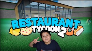 Restaurant Tycoon 2 Roblox Gameplay