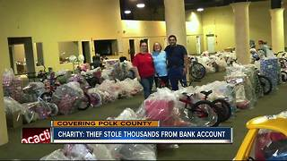 Thieves steal thousands from Polk charity for kids - Video