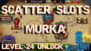 How to unlock level 24 in Scatter Slots (Las Vegas Casino Game)