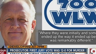 Prosecutor: First jury vote was 12-0 for murder - Video