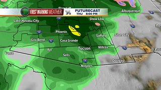 Two storms to impact Arizona over the next seven days
