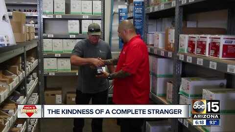 Good samaritan purchases air conditioner unit for Valley family