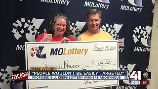 Proposed bill could keep Missouri lottery winners anonymous