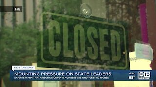 Mounting pressure on Governor Ducey surrounding coronavirus