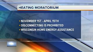PSC urges people to call utilities before winter heating moratorium - Video