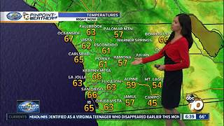 10News Pinpoint Weather - Sunday morning, Oct. 1, 2017