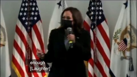 Kamala Laughs Hysterically At Struggling Parents Who Can't Send Kids To School