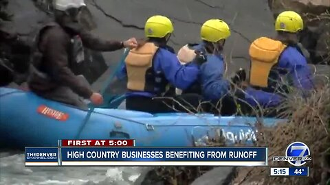 High country businesses benefiting from snow runoff