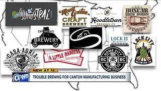 Breweries across the country out thousands of dollars from Canton brewery supply company - Video