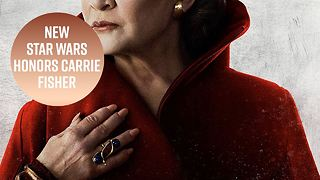 Star Wars trailer is making fans remember Carrie Fisher - Video