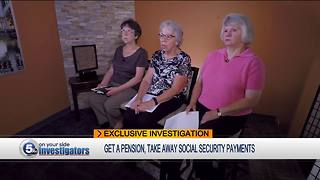 Social Security Investigation: Local women say they're penalized for working government jobs
