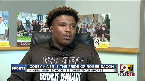 Humble, hardworking Roger Bacon running back Corey Kiner knows 'high school is bigger than sports'
