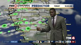 Hot & humid, storms possible - Video