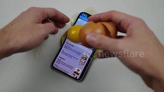 How to make a case for your iPhone X (if you don't mind destroying it) - Video