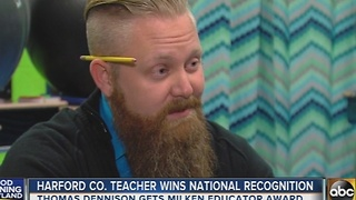 Harford County teacher wins Milken Educator award - Video