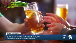 Bars try to stay afloat following Gov. Ducey's executive order