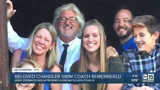 Beloved Chandler swim coach dies after battle with COVID-19