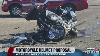 Democratic lawmaker proposes motorcycle helmet law - Video