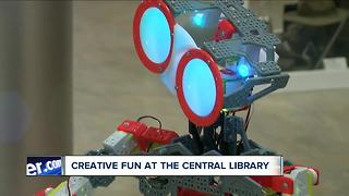 Creative fun with high-tech tools at the Library - Video