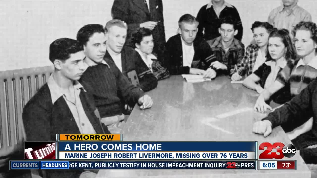 Remains of Bakersfield veteran returns home after 76 years