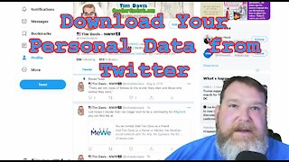 Download Your Data from Twitter