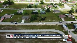 Body recovered while searching for missing woman