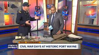Annual Civil War Days returns to Historic Fort Wayne - Video