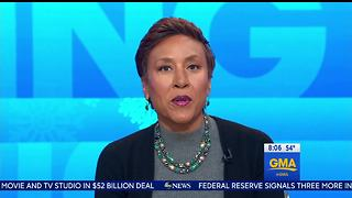 'GMA' host Robin Roberts on Omarosa's White House exit: 'Bye, Felicia' - Video