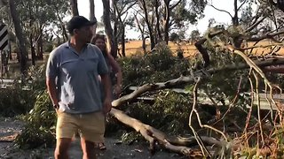 Cleanup Underway in Victoria Following Damaging Storms - Video