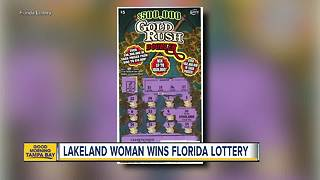 Lakeland woman wins Florida Lottery - Video
