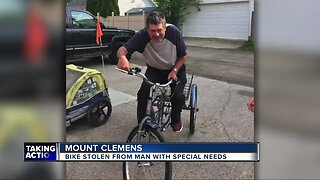 Bike stolen from man with special needs