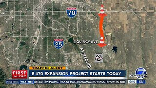 E-470 expansion project starts Monday
